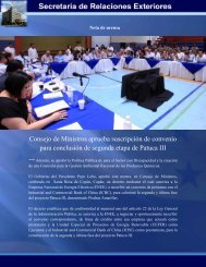 documento - Secretaría de Relaciones Exteriores de Honduras