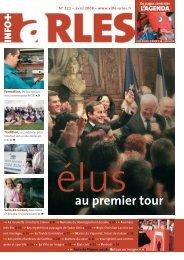 + au premier tour - Arles kiosque