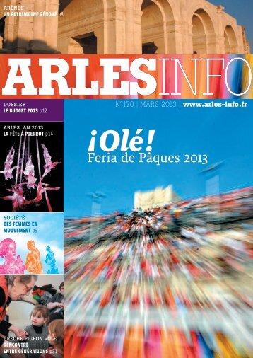 Télécharger au format PDF (4.48 Mo) - Arles kiosque