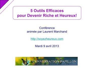 5 Outils Efficaces - Conversation Papillon
