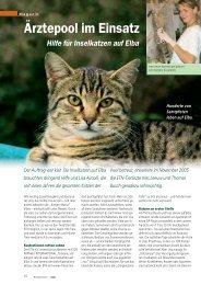 Ärztepool im Einsatz - SOS animali international