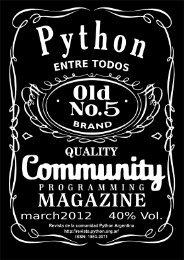 A4 vertical - PET: Python Entre Todos - Python Argentina
