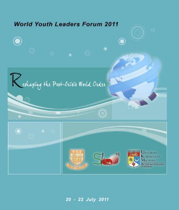 WYL Forum_20110715.indd - The Chinese University of Hong Kong