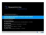 Presentation (PDF) - SpaceWorks Enterprises, Inc.