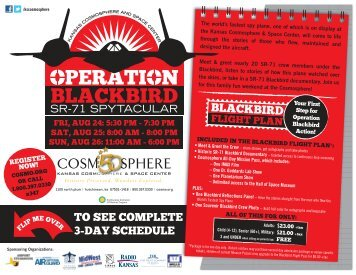 OBSS Flyer Public Schedule - Kansas Cosmosphere and Space ...