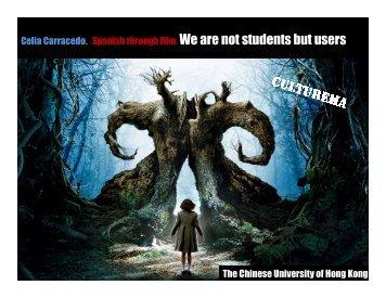 PPT - The Chinese University of Hong Kong