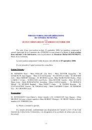 PV DCM du 3 octobre 2008 - Les Avirons