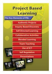 Project Based Learning Booklet - Parramatta Marist High