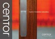 Centor LT installation instructions
