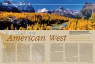 Fall Foliage in the American West - James Kay Photography