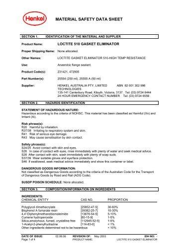 loctite 510 gasket eliminator - All Fasteners