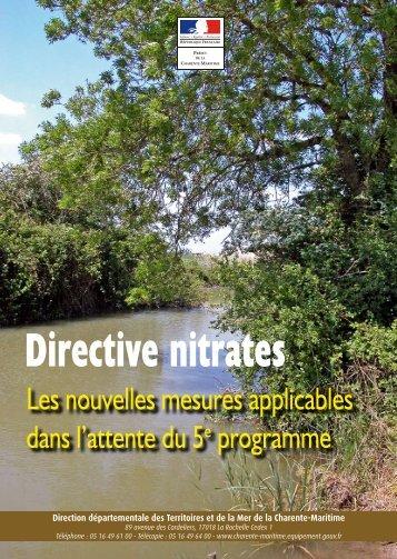 Genial Directive Nitrates   La Chambre Du0027Agriculture De Charente Maritime.