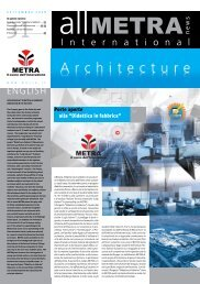 1-News Architecture 31.indd - Metra SpA