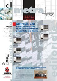 News Architetti N° 18 - Metra SpA