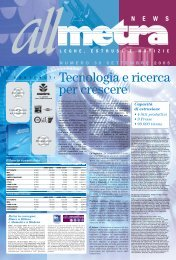 News Industria N°39 - Metra SpA