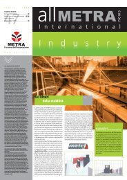 6-News Industry.indd - Metra SpA