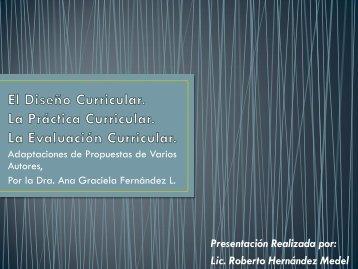 el-disec3b1o-la-practica-y-la-evaluacion-curricular