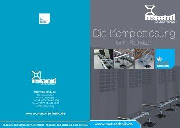 Die Komplettlösung für Ihr Flachdach - MEZ-Technik GmbH