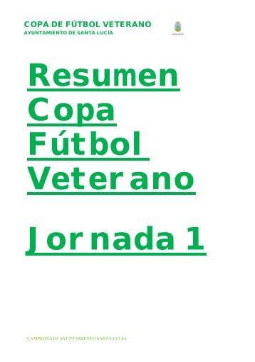copa de fútbol veterano - Ayuntamiento de Santa Lucía