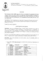 Anuncio Lista Provisional de Admitidos y Excluidos para el ...