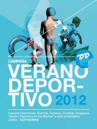 librito verano deportivo_2012 - Ayuntamiento de Santa Lucía