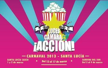 Programa del Carnaval 2013 - Ayuntamiento de Santa Lucía