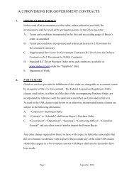 A-2 PROVISIONS FOR GOVERNMENT CONTRACTS - Team-Logic