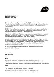 ENRICO INGENITO cv - Openlabgallery.it