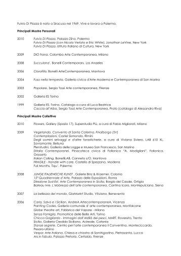 FULVIO DI PIAZZA bio ita_eng - Open Lab