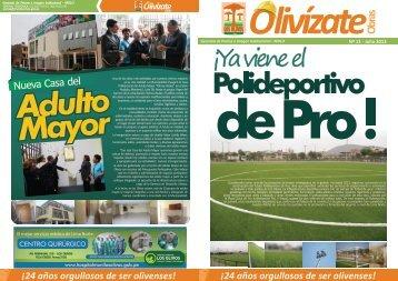 24 años orgullosos de ser olivenses! - Los Olivos