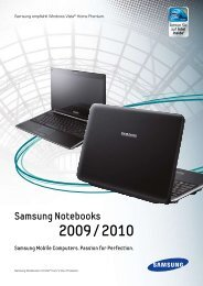 Samsung Notebooks - METZ IT-Service