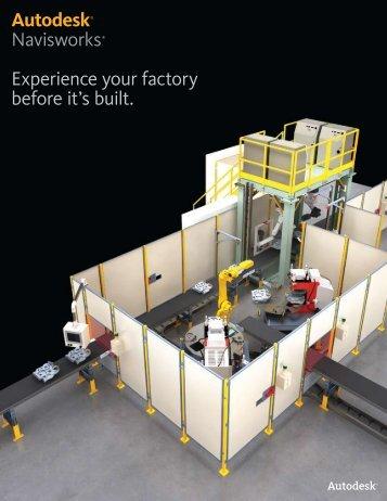 Autodesk® Navisworks® Experience your factory ... - CAD Studio