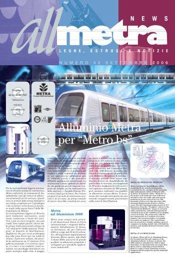 News Industria N°42 - Metra SpA