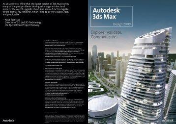 Autodesk® 3ds Max® - Cadgroup