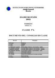 Classe 5°L