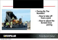 Rocky Mountain Asphalt Paving by the Numbers - Rmaces.org