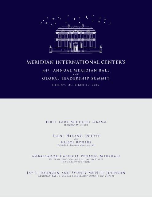 global leadership summit - Meridian International Center