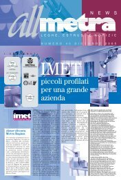 News Industria N°40 - Metra SpA