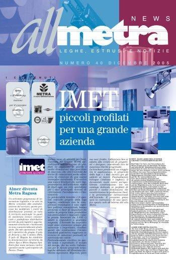 News Industria N°40 - Metra SpA