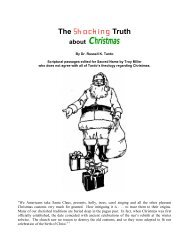 The Shocking Truth About Christmas