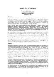 PEDAGOGIA DA ENERGIA - SciELO Proceedings