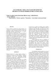 O FATOR DE CARGA NO CUSTO DO KWH EM - SciELO Proceedings