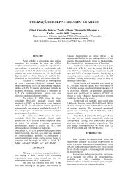 UTILIZAO DE GLP NA SECAGEM DO ARROZ - SciELO Proceedings