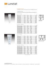 T5 Balkenleuchten ( PDF ) - Lumetall AG