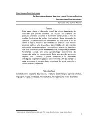 Bernardo Silva Martins Ribeiro∗ Resumo Este paper efetua a ...