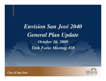 Envision San José 2040 General Plan Update - City of San Jose