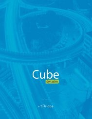 Cube Dynasim is used for a wide variety of studies - Citilabs