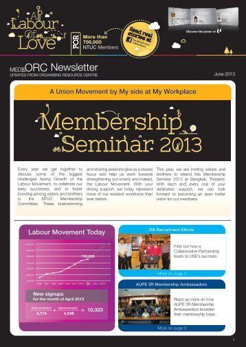 Membership - NTUC