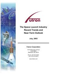 1.0Executive Summary - Futron Corporation