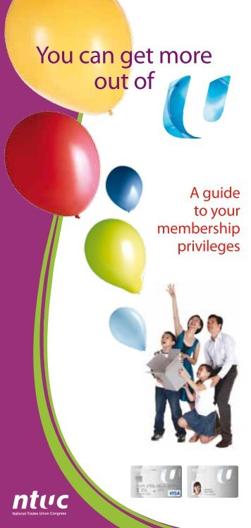 Membership benefits booklet - MIWU